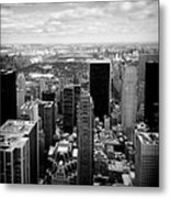 Manhattan Metal Print by Dave Bowman
