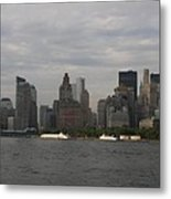 Manhattan Skyline 2010 Metal Print