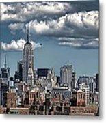 Manhattan-skyline Metal Print