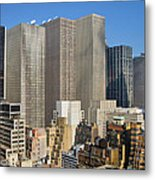 Manhattan Urban Jungle Metal Print