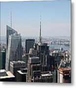 Manhattan View 2012 Metal Print