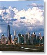Manhattanincloudbank Metal Print