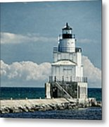 Manitowoc Breakwater Lighthouse Metal Print