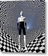 Mankinds Use Of Binary Language Metal Print