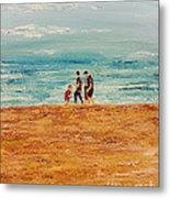 Manly Seashore Sydney Metal Print