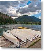 Manning Parks Lightning Lake Metal Print
