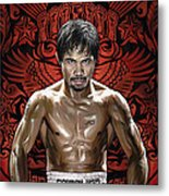Manny Pacquiao Artwork 1 Metal Print