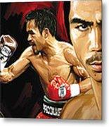 Manny Pacquiao Artwork 2 Metal Print