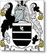 Mansfield Coat Of Arms Irish Metal Print
