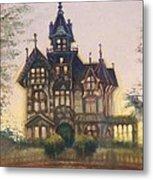 Mansion In Eureka Metal Print