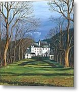 Mansion In The Woods Metal Print