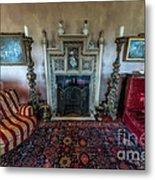 Mansion Sitting Room Metal Print by Adrian Evans