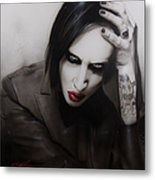 Manson II Metal Print