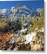 Many Glacier Colors Metal Print
