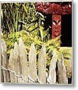 Maori Carving Metal Print