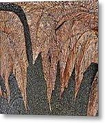 Maple Leaf Unleashed Metal Print