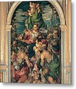 Marascalchi Pietro, Our Lady Of Mercy Metal Print by Everett