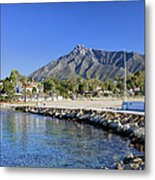 Marbella Holiday Resort In Spain Metal Print