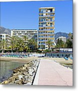 Marbella Resort In Spain Metal Print
