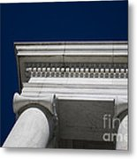 Marble Architecture Metal Print