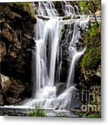 Marble Falls Waterfall 3 Metal Print