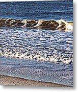 Marble Waves Metal Print