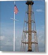 Marblehead Light Tower Metal Print