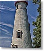 Marblehead Lighthouse Lake Erie Metal Print