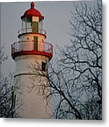 Marblehead Lighthouse On Lake Erie  Metal Print