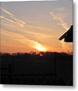March 22  Countryside Sunrise Metal Print