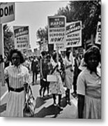 March For Equality Metal Print