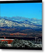 March In New Mexico Metal Print