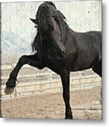 March In Stride Metal Print