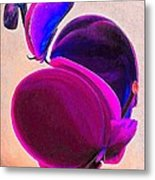 March Of The Orchid 4 Metal Print