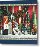 March Of The Wooden Soldiers Metal Print