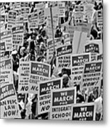 March On Washington Metal Print