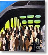 Marching Into History Metal Print