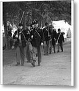 Marching Off To Battle Metal Print