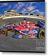 Marco Andretti Metal Print by Blake Richards