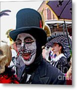 Mardi Gras Costumes Photo Metal Print