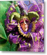 Mardi Gras Decoration Metal Print