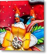 Mardi Gras Float Metal Print