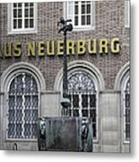 Mardi Gras Fountain Cologne German Metal Print