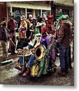 Mardi Gras Parade Metal Print