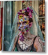 Mardi Gras Voodoo In New Orleans 2 Metal Print by Louis Maistros