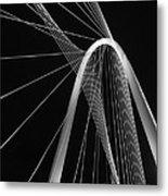 Margaret Hunt Hill Bridge Dallas Texas Metal Print