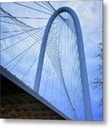 Margaret Hunt Hill Bridge Dawn Metal Print