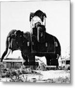 Margate Elephant, C1900 Metal Print