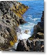 Marginal Way Crevice Metal Print