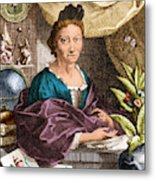 Maria Merian  Metal Print by Science Source